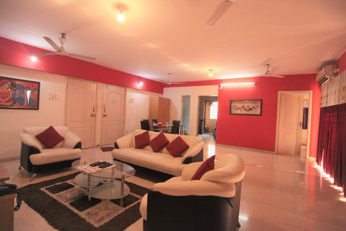 3 bhk serviced apartment in baner road pune