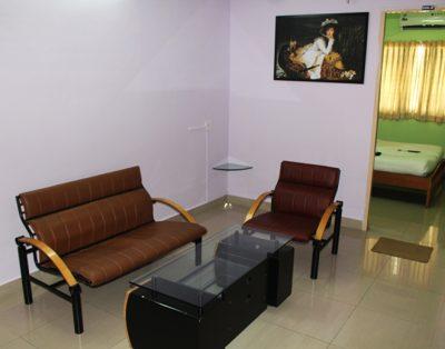 2 BHK Serviced Apartments in Kandanchavadi