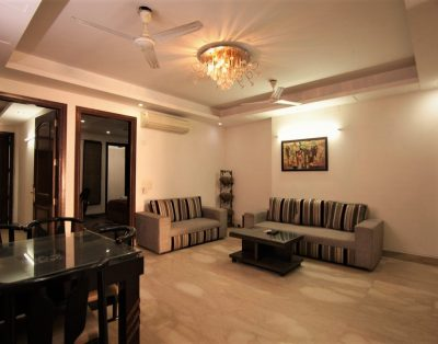 3 BHK Service Apartment in Kailash Colony