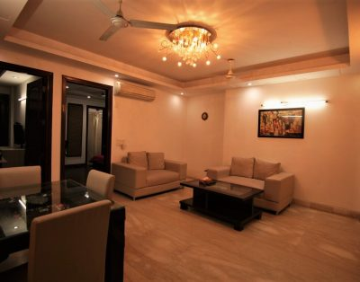 3 BHK Serviced Apartment in Kailash Colony