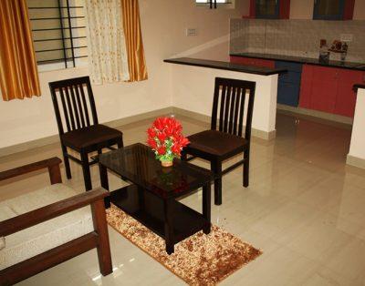 1 BHK Serviced Apartments in Indira Nagar Bangalore