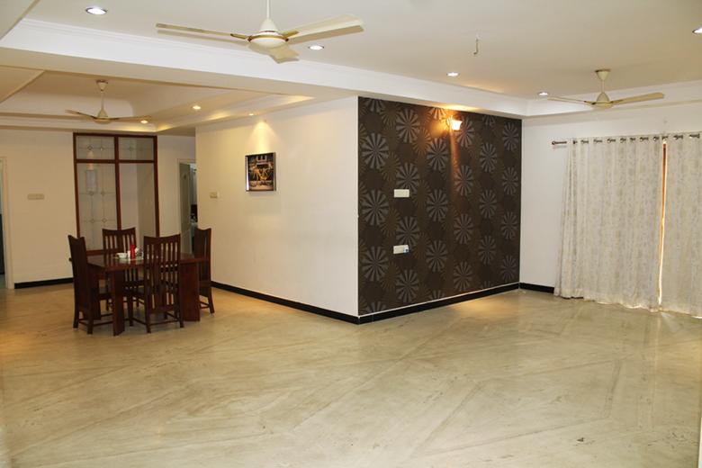 Service Apartments | 3 BHK Serviced Apartment Banjara ...