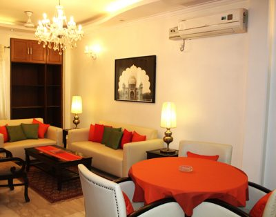 3 BHK Service Apartment in Defence Colony
