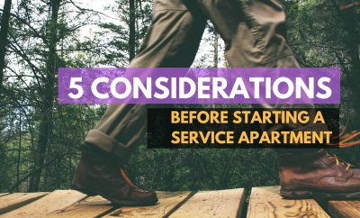 5 Considerations Before Starting A Service Apartment