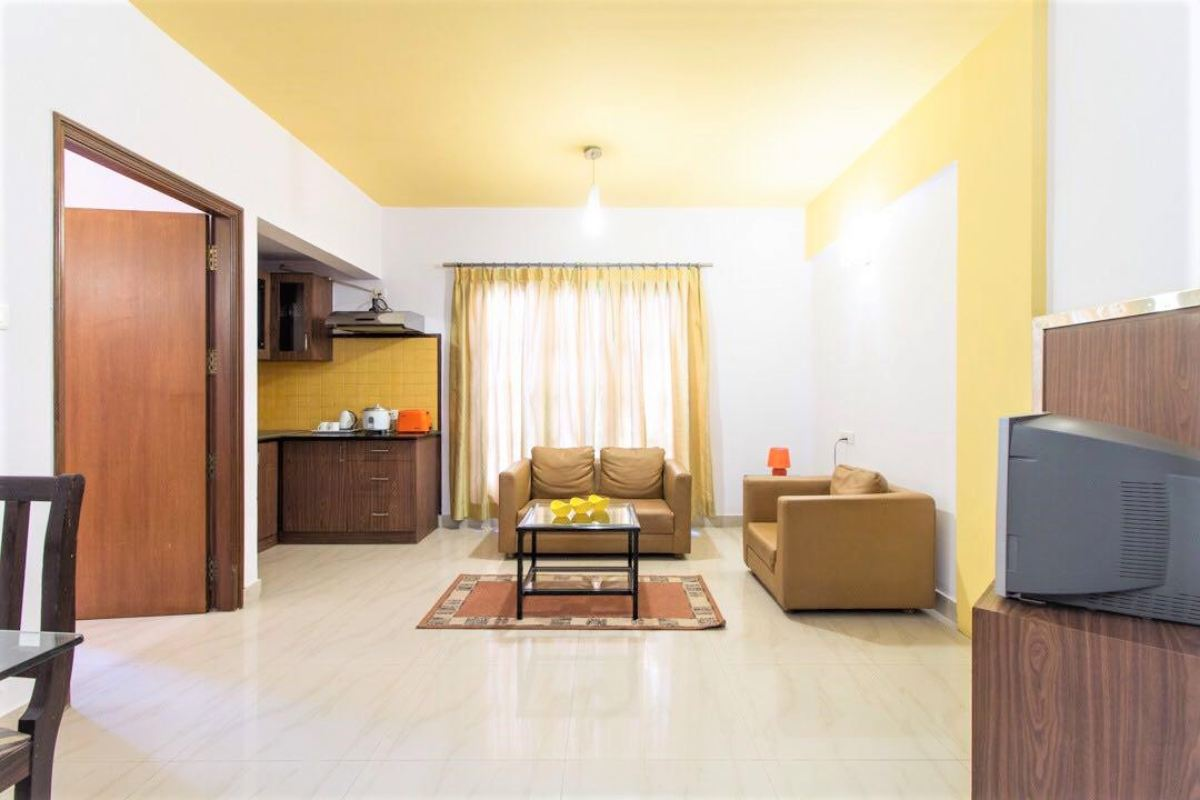 1 BHK Service Apartment in Madhava Nagar – Bengaluru
